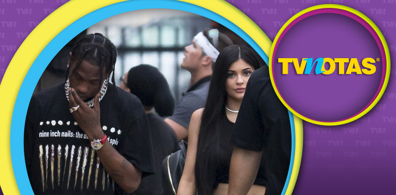 Kylie y Travis.