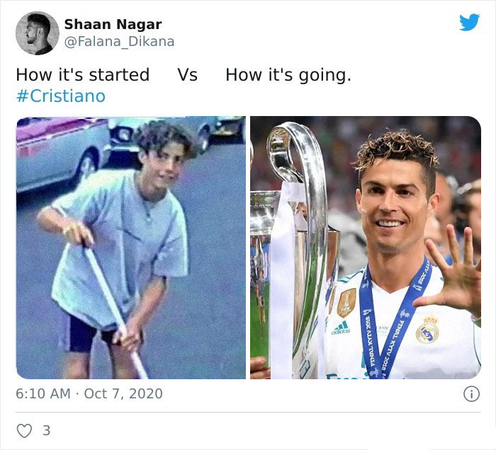 How it started vs How it's going famosos tendencia