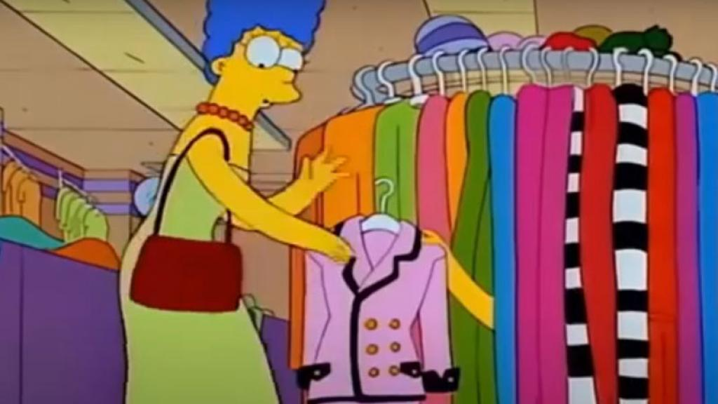 marge simpson chanel multiusos