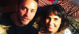 Ana Serradilla y Christopher Uckermann.