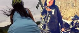 "Falleció en terrible accidente la sensual ""reina de las motocicletas"""