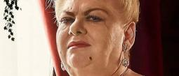 Paquita se accidenta