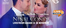 ninel conde boda larry ramos boletos internet livestream