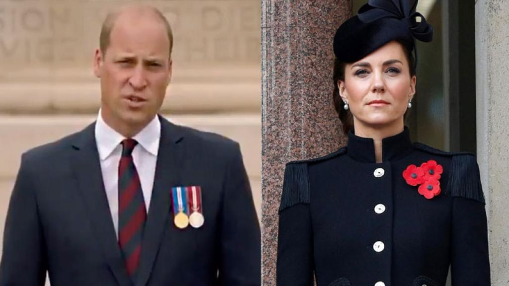 william y kate de luto por pérdida familiar